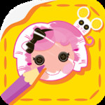 Lalaloopsy: Colour & Sticker