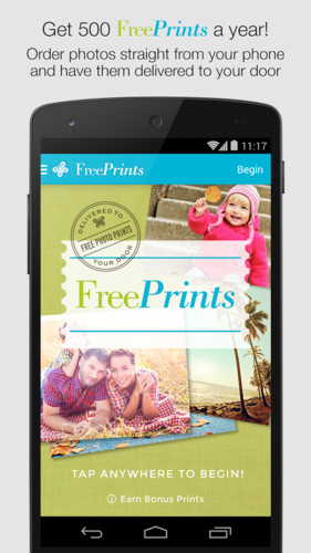 Free Free Prints cell phone app