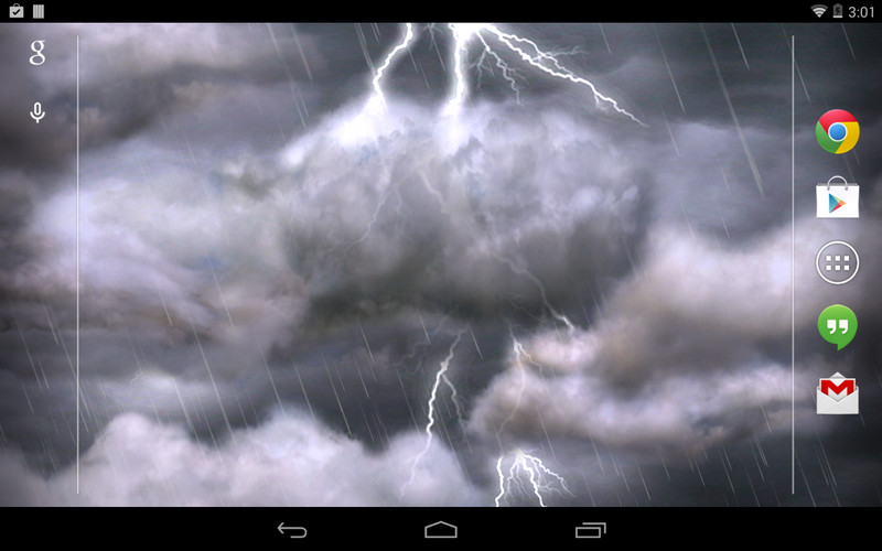 Thunderstorm Free Wallpaper screenshot 3