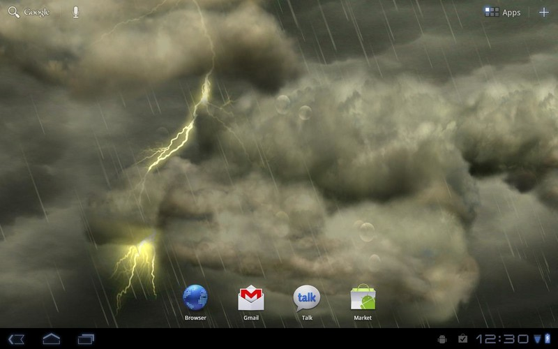 Thunderstorm Free Wallpaper screenshot 5