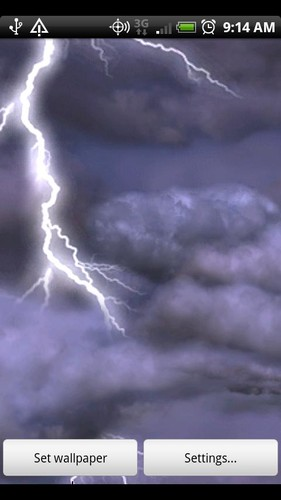 Thunderstorm Free Wallpaper screenshot 7