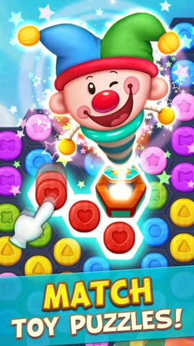 Free Toy Party: Free Match 3 Game – Hexa & Block Puzzle cell phone game