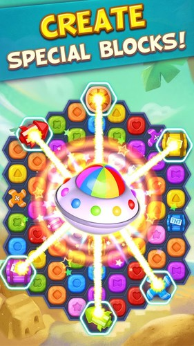 Toy Party: Free Match 3 Game – Hexa & Block Puzzle screenshot 2