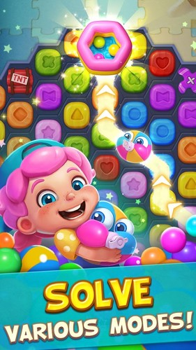 Toy Party: Free Match 3 Game – Hexa & Block Puzzle screenshot 3