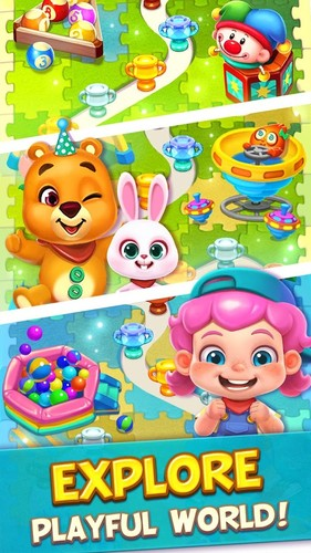 Toy Party: Free Match 3 Game – Hexa & Block Puzzle screenshot 5